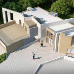 Projekt domu energooszczędnego wykonanu przez firme z Poznania